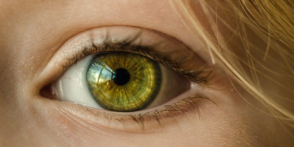 occhio verde iridologia